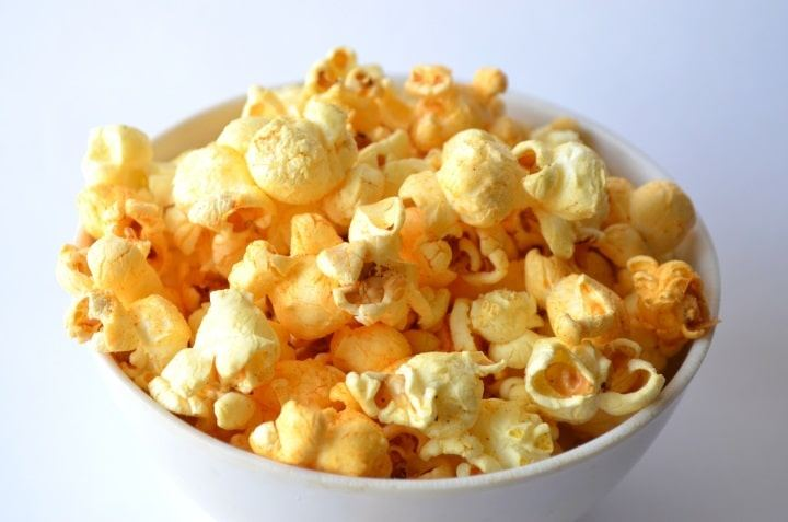 Popcorn with other flavorings and additives